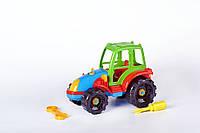 Развивающий - конструктор Трактор Toys Plast (ИП 30005)