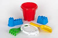 Песочный набор Замок маленький Toys Plast (ИП 21007)