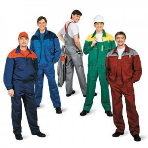 одежда рабочая, общее