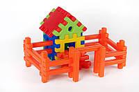 Конструктор Пазлы в наборе Теремок Toys Plast (ИП 09002)