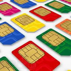 Стартовые пакеты и карточки пополнения счета мобильных операторов
