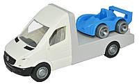 Автомобиль Mercedes-Benz Sprinter эвакуатор белый (39660)