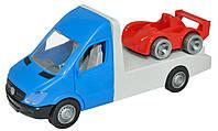 Автомобиль Mercedes-Benz Sprinter эвакуатор синий (39661)