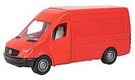 Автомобиль Mercedes-Benz Sprinter грузовой красный (39652)