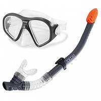 Intex 55648, Набор для плавания маска с трубкой