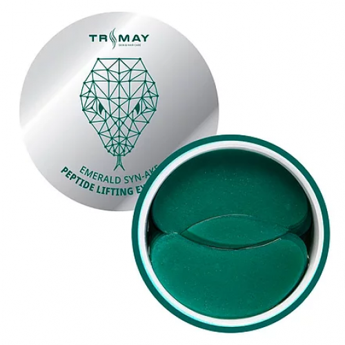 Гидрогелевые патчи с пептидом змеи Trimay Emerald Syn-Ake Peptide Lifting Eye Patch