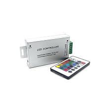 Led контролер RGB 12-24V 12А для світлодіодної стрічки, фото 1