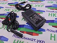 Блок питания 24W, 12V, 2А (24Вт, 12В) В пластиковом корпусе для светодиодных лент, модулей, линеек