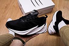 Мужские кроссовки Shark Boost Concept Sneakers Black White ( Реплика ), фото 3