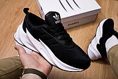 Мужские кроссовки Shark Boost Concept Sneakers Black White ( Реплика )