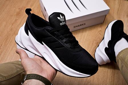 Мужские кроссовки Shark Boost Concept Sneakers Black White ( Реплика ), фото 2