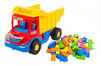 Multi truck грузовик с конструктором (39221)