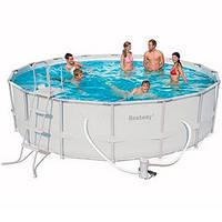 Bestway 56451, Каркасный бассейн (488х122 см)