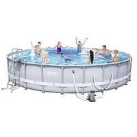 Bestway 56705, Каркасный бассейн  (671х132 см)