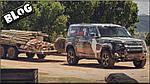 ВИДЕО:Новый Land Rover Defender испытали в львином заповеднике.