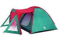 Палатка 3-местная Ocaso (150+225) х 260 х 155 см Bestway (68011)