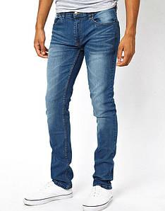 Джинси D-Struct (by Bellfield) - Washed Blue White (мужские джинсы)