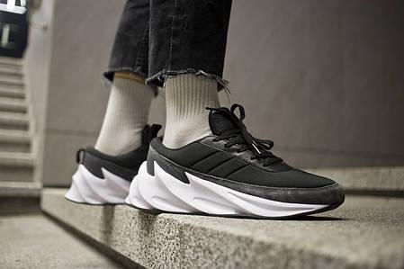 Мужские кроссовки Shark Boost Concept Sneakers Black Grey ( Реплика ), фото 2