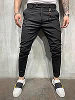 Чоловічі штани 2Y Premium P1038 black