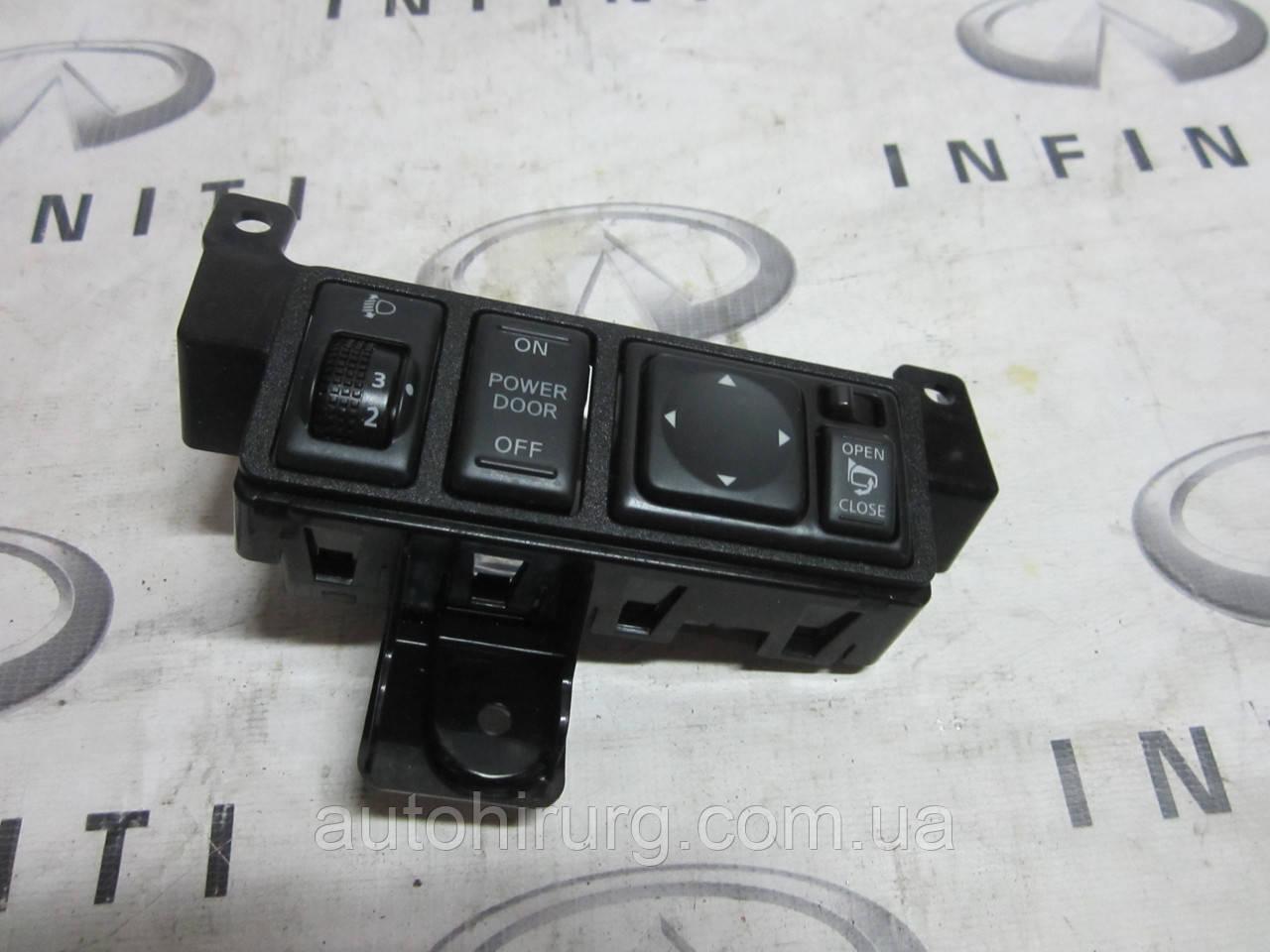 Панель управления фарами Infiniti Qx56 / Qx80 - Z62