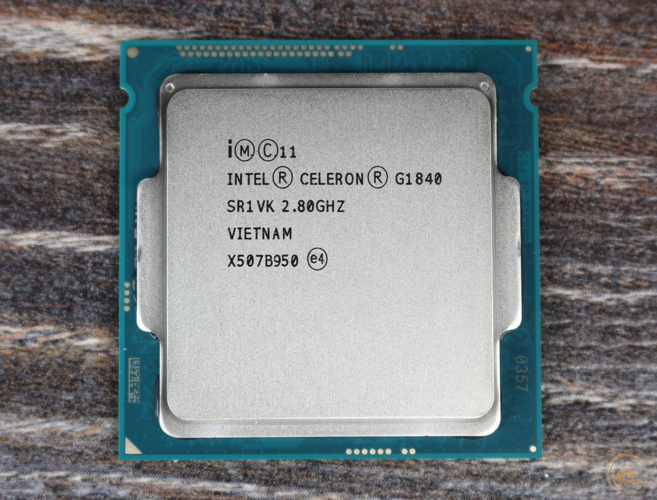Процессор Intel Celeron G1840/1820 s1150 2.8GHz 2MB 2 ядра