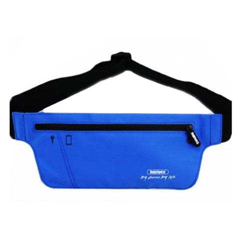 Пояс спортивный Remax Waist Bag YD-03, blue