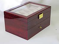Шкатулка для хранения часов Craft 20WB.RED