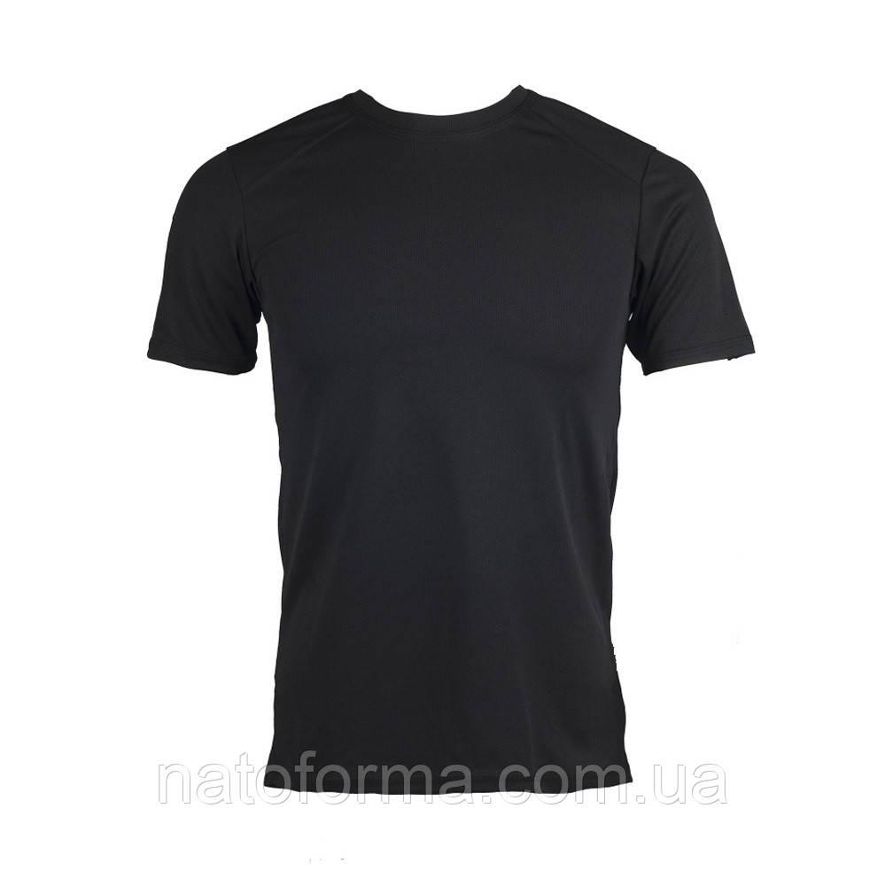 Футболка влагоотводящая Coolmax, черный