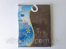 Шторка для ванной и душа (штора в ванную) ЗD Chaoya с кольцами 100% EVA (этиленвинилацетат) 180 * 180 cm.
