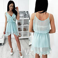 Легкое летнее платье Н 414