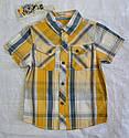 Летняя рубашка для мальчика в клетку (Glo-Story, Венгрия), фото 2