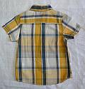 Летняя рубашка для мальчика в клетку (Glo-Story, Венгрия), фото 3