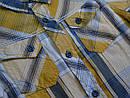 Летняя рубашка для мальчика в клетку (Glo-Story, Венгрия), фото 4