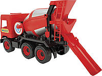 Бетономешалка Middle Truck Красная Wader 39489