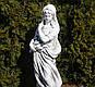Садовая фигура для сада Богиня зимы 25x24x83cm , фото 2