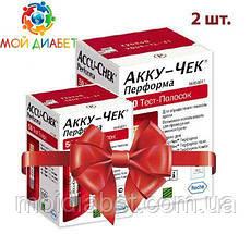Тест-смужки Accu-Chek Performa 100 шт. 2 упаковки