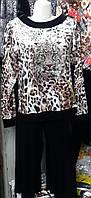 Женский  костюм брюки на манжете ( Турция)
