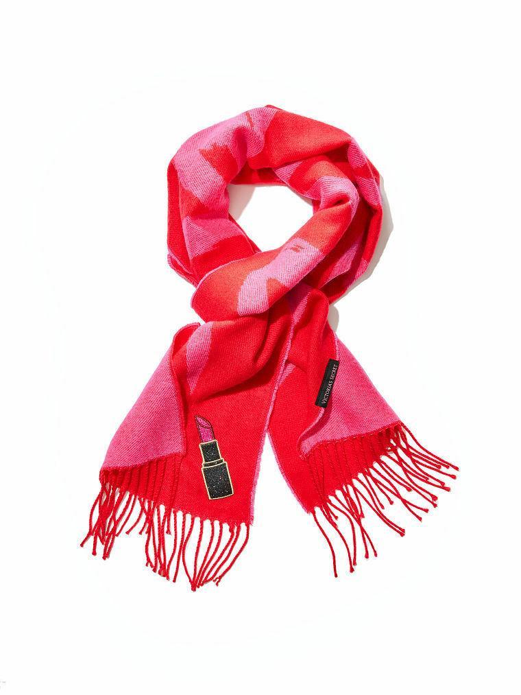 Victoria's Secret шарф красный оригинал