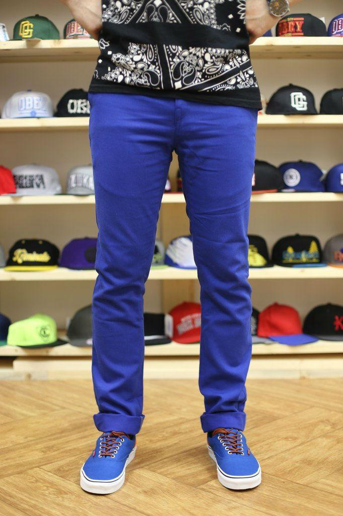 Штаны чиносы Outfits - Chinos 1.0 Royal (чоловічі штани) - Unitedshop в  Ивано- b57f3c72dbd65