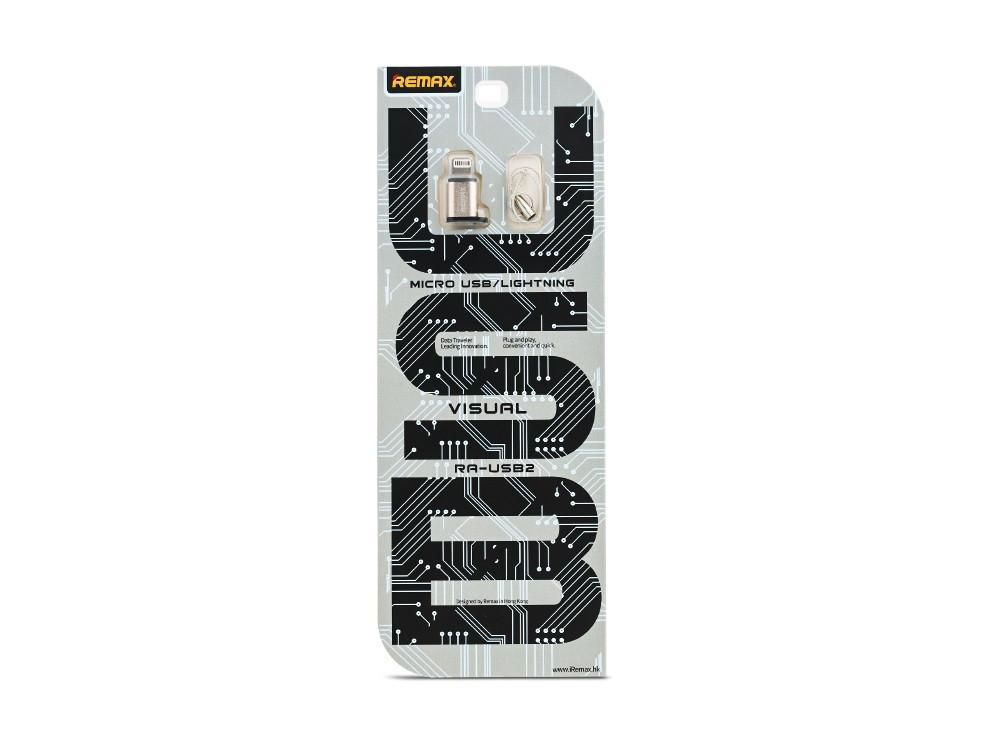 Купить Переходник Remax Visual RA-USB2 Micro-USB Lightning