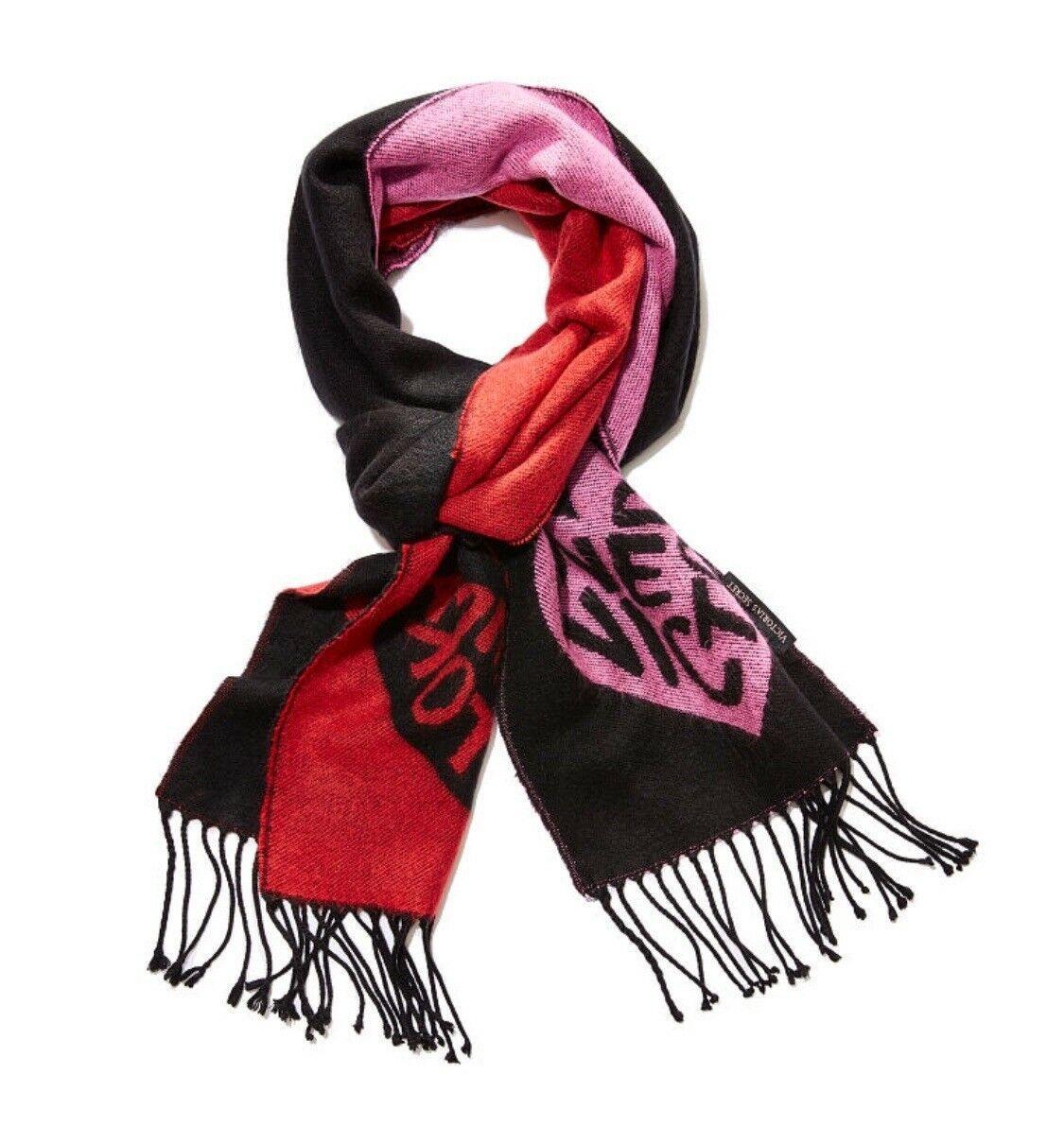 Victoria's Secret шарф черный оригинал
