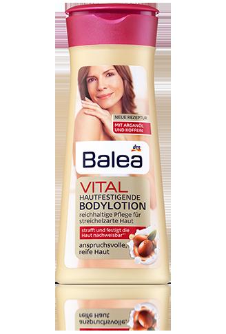 Balea лосьен для тела виталь смаграновым маслом Bodylotion Vital mit Arganöl 400мл