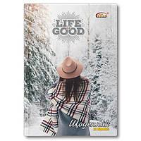 """Дневник школьный, обложка твердая Бриск """"Зима"""" УВ-25-С-GOLD-72844"""