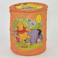 Корзина для игрушек оранжева, в п/э /50/ (A01065-1)