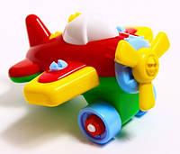 Игрушечный самолет конструктор Toys Plast (Samolkonst)