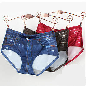 Шорты - трусики - плавки junior с джинсовым 3D принтом