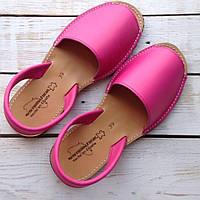 Яркие сандалии из натуральной кожи Испания, оригинал, фото 1