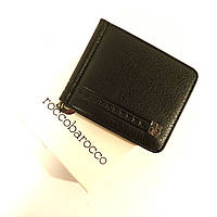 Купюрник-зажим кожаный для денег магнитный RoccoBarocco 47006, фото 1