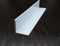 Уголок алюминиевый 15х15х1,5, белый, фото 1