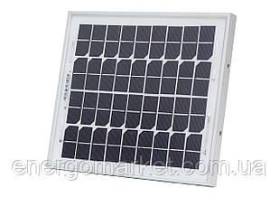 Монокристаллическая солнечная батарея Altek AKM 10 Вт